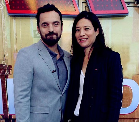Jake Johnson and his wife Erin Payne