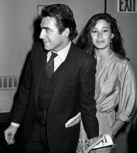Armand Assante and wife Karen Assante