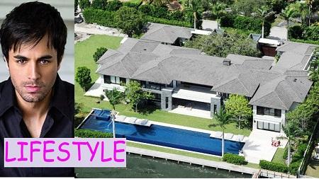 Enrique Iglesias' Miami House