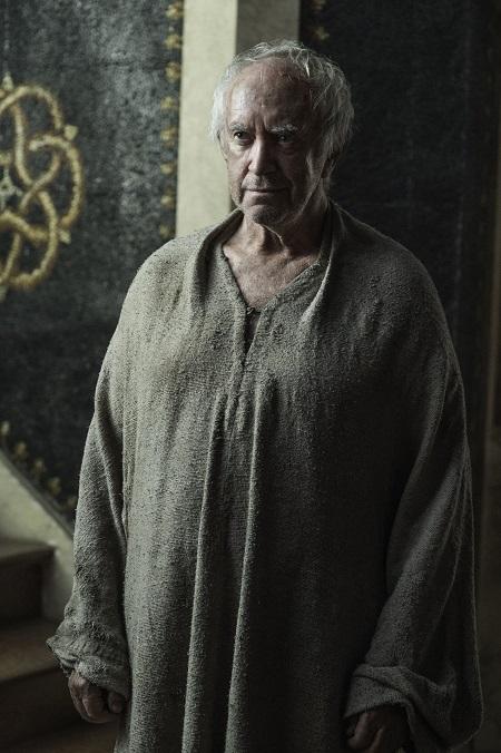 Welsh actor, Jonathan Pryce as High Sparrow