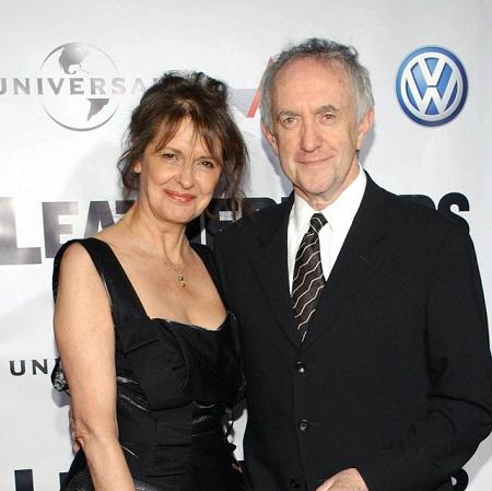 Jonathan Pryce with wife Kate Fahy