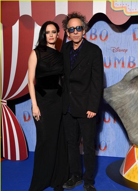 Tim Burton and Eva Green