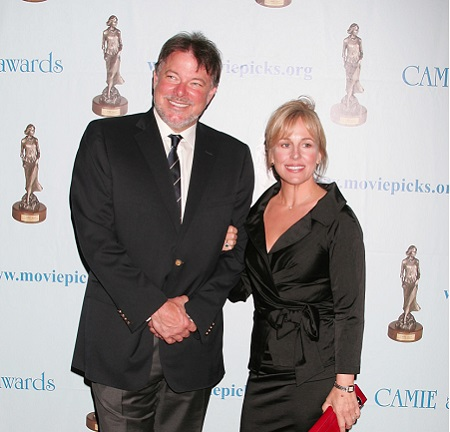 Jonathan Frakes and his wife Genie Francis at the CAMIE Awards