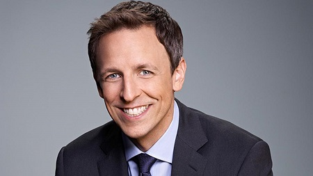 American comedian and actor Seth Meyers