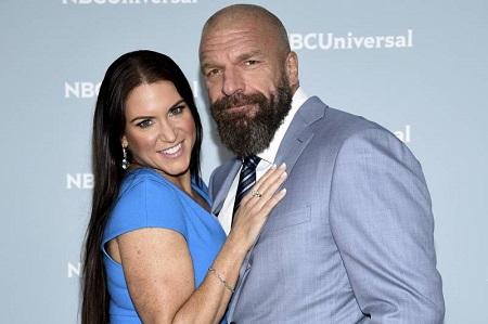 Stephanie McMahon and her husband Triple H