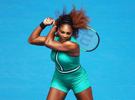 Serena Williams; American professional tennis player