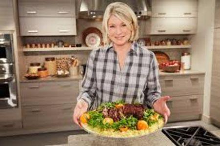 Stewart hosting Martha Stewart's Cooking School