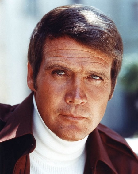 The American actor Lee Majors