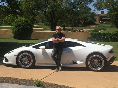 Joey Kramer's Lamborghini Huracán