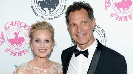 Maureen McCormick and her husband Michael Cummings