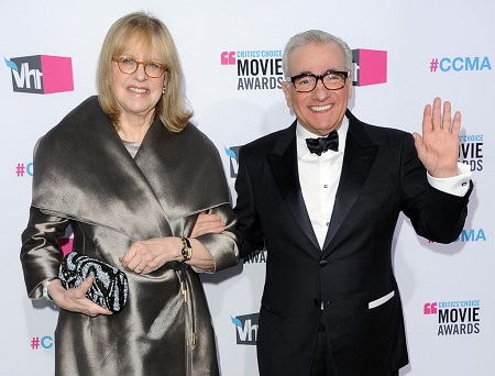 Martin Scorsese and his fifth wife Helen Morris Scorsese