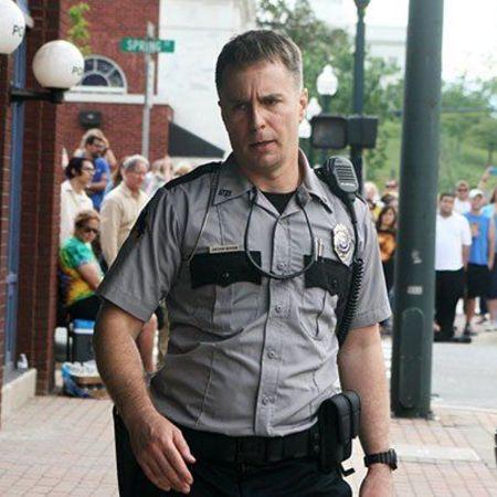Rockwell as officer Jason Dixon on Three Billboards Outside Ebbing, Missouri