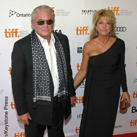 Tom Berenger and his wife Laura Moretti