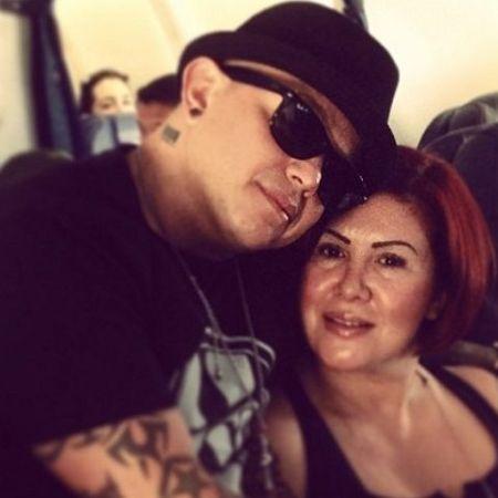 Óscar Gutiérrez with wife Angie