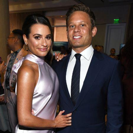 Michele with husband Zandy