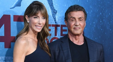 Sylvester Stallone and his third wife Jennifer Flavin