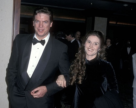 Christopher McDonald and his wife Lupe McDonald