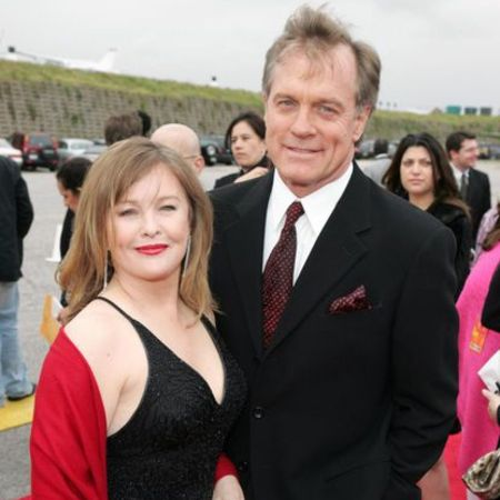 Collins with his former wife Grant