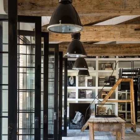 The interior of the house that Diane Keaton built getting inspiration from Pinterest Image