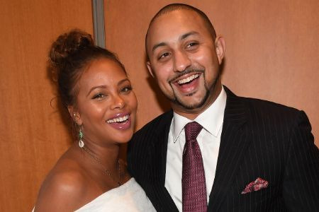 Michael Sterling and his wife Eva Marcille