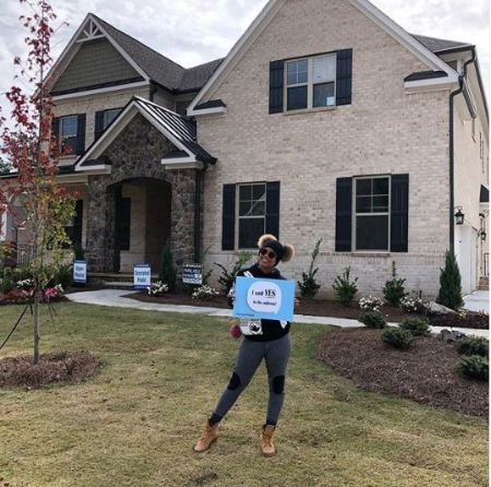 Michael lives with his wife & children in Alpharetta, Georgia house; after the purchase Eva shared the post of her new home on Instagram