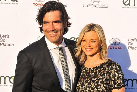 Amy Smart and her husband Carter Oosterhouse