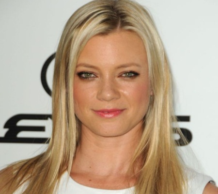 American actress and former fashion model Amy Smart