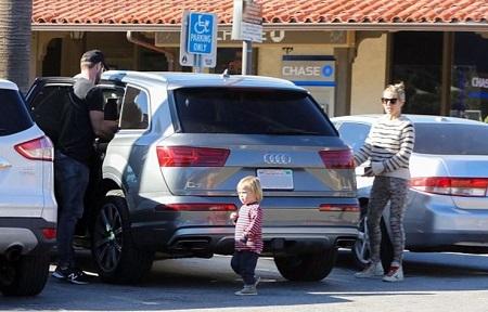 Chris Hemsworth and Elsa Pataky's Audi