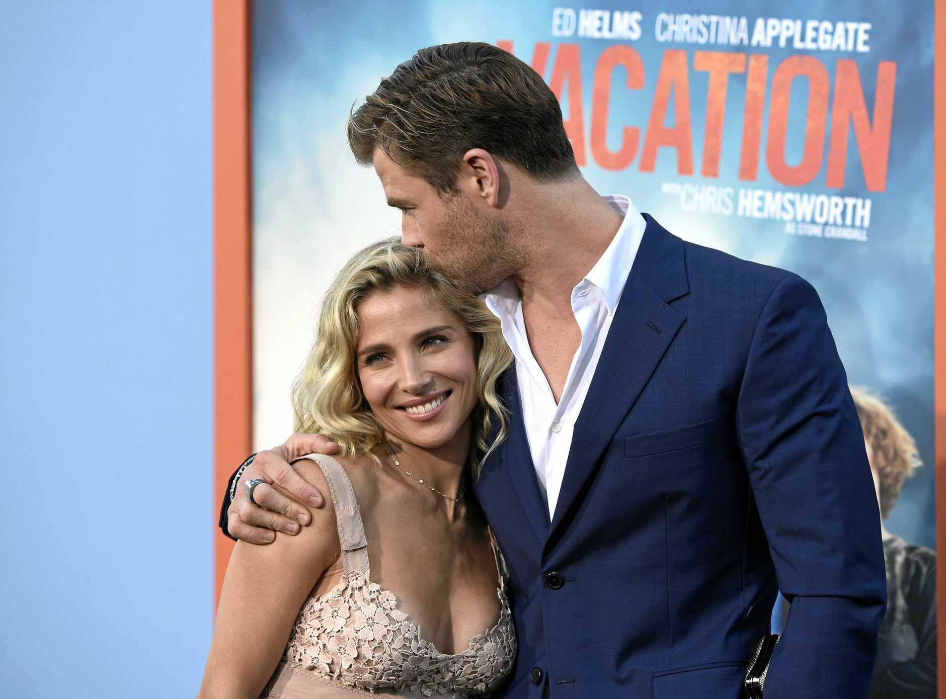 Elsa Pataky and husband Chris Hemsworth
