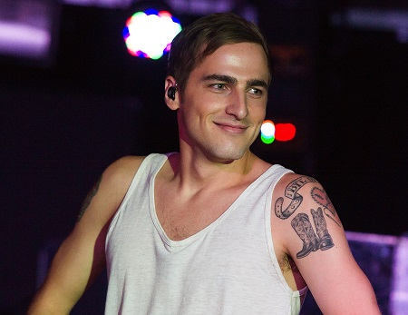 American singer and actor Kendall Schmidt