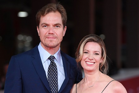 Michael Shannon and his wife Kate Arrington
