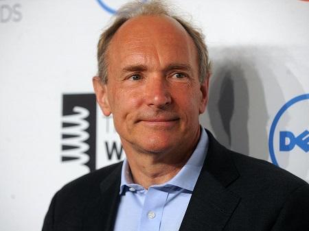 American engineer Tim Berners-Lee