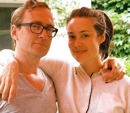 Megan Boone and her partner Dan Estabrook