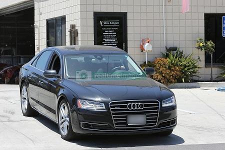 Vince Vaughn's Audi