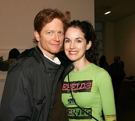 Eric Stoltz and wife Bernadette Moley