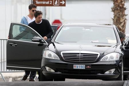 Adrien Brody's Mercedes-Benz S-Class
