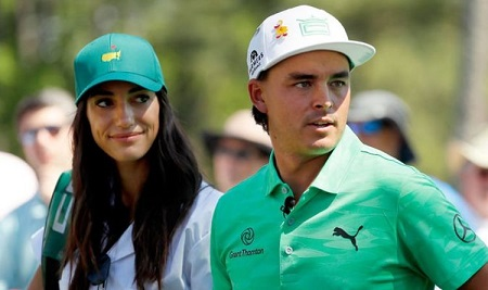 Allison Stokke and her husband Rickie Fowler