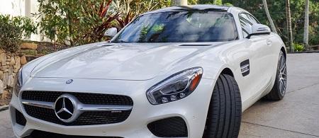 Allison Stokke's Mercedes AMG GTS