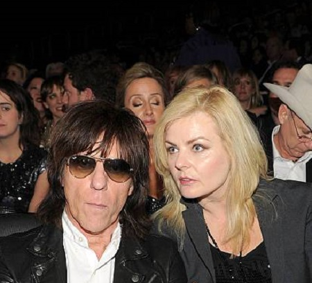 Jeff Beck and his second wife Sanda Cush