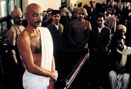 British actor Ben Kingsley in Gandhi