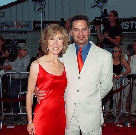Lin Shaye and ex husband  Clayton Landey