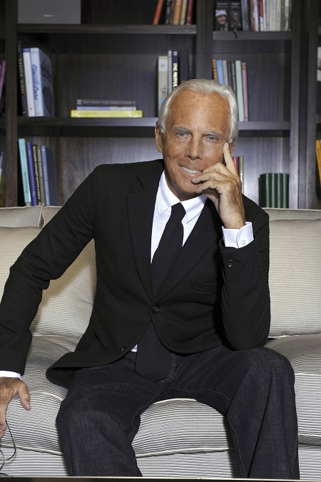 Giorgio Armani is one of the most wealthiest fashion designers in the world
