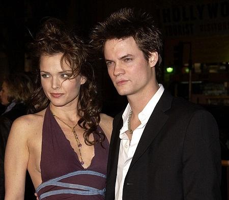 Dina Meyer and her ex-boyfriend Shane West