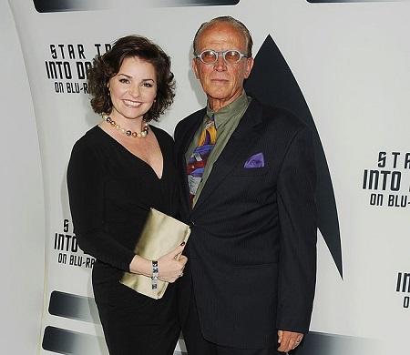 Peter Weller and wife Shari Stowe