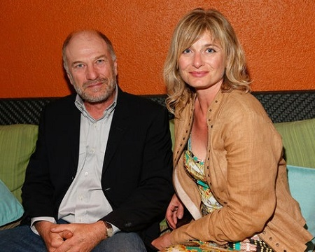 Ted Levine with his wife, Kim