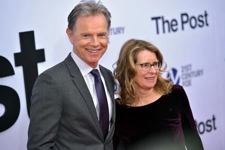 Bruce Greenwood and wife Susan Devlin