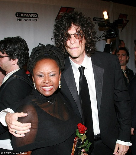 Robin Quivers with Howard Stern