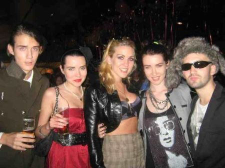 King With Her Band Members
