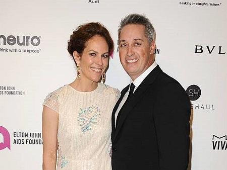 Annabeth Gish and husband Wade Allen
