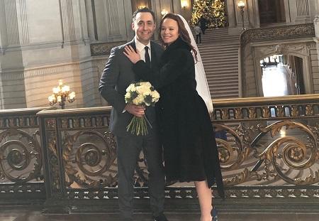 Thora Birch and her husband Michale Benton Adler